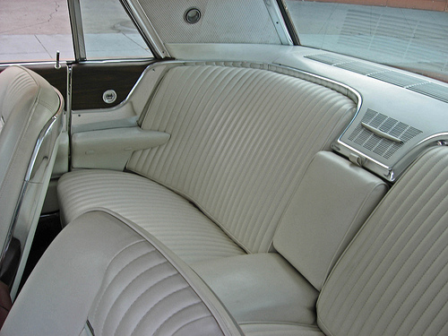 1965 Ford Thunderbird rear 3q