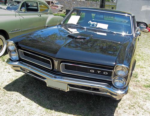 1965 Pontiac GTO front