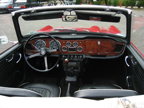1966 Triumph TR4A interior © 2008 Arnaud 25 PD