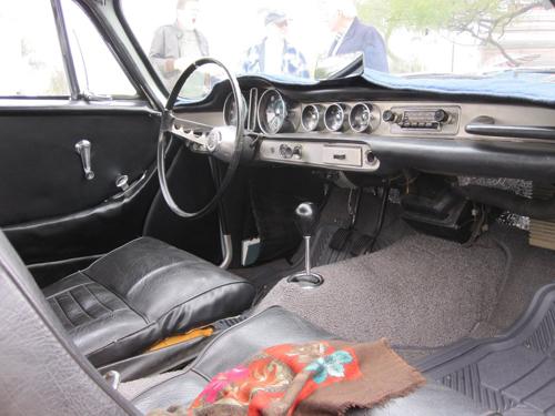 1966 Volvo 1800S interior 2011 Tyler Brand per