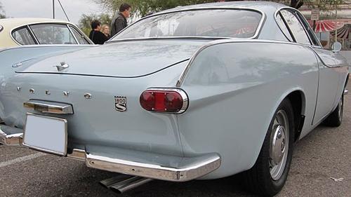 1966 Volvo 1800S taillight 2011 Tyler Brand per