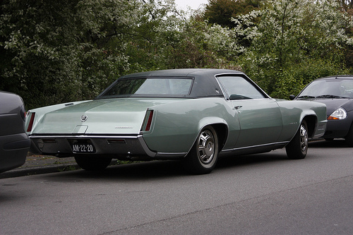 1967 Cadillac Eldorado rear 3q © 2009 Carchelogisch Onderzoeker (Wouter Duijndam) (CC BY-SA 2.0 Generic)