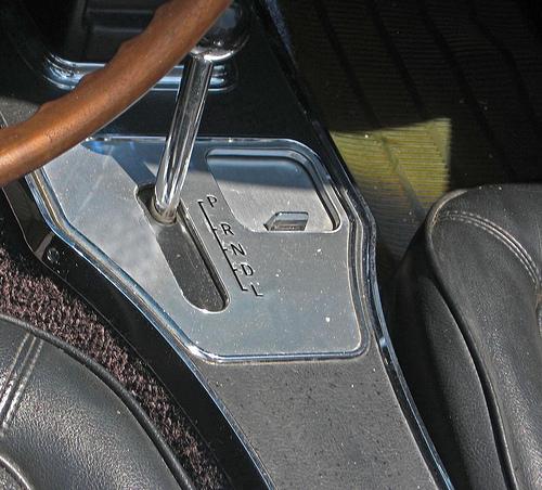 1967 Chevrolet Corvette convertible Powerglide shifter