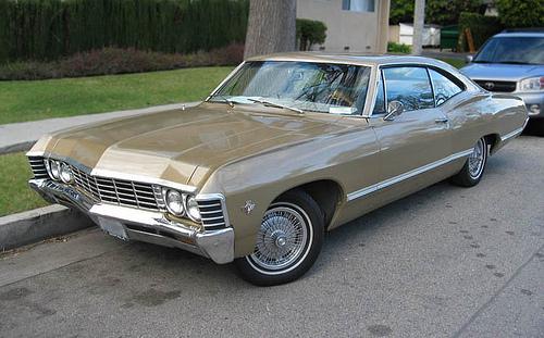 1967 Chevrolet Impala Sport Coupe front 3q © 2009 Aaron Severson