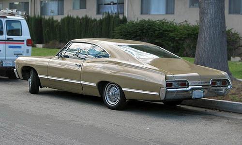 1967 Chevrolet Impala Sport Coupe rear 3q © 2009 Aaron Severson