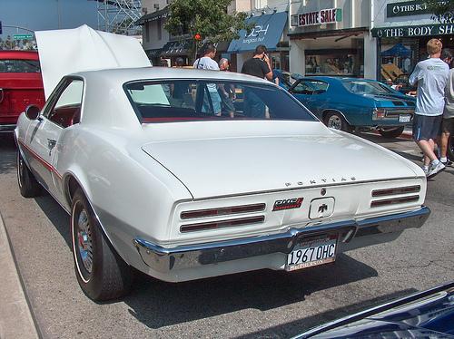 1967 Pontiac Firebird Sprint rear
