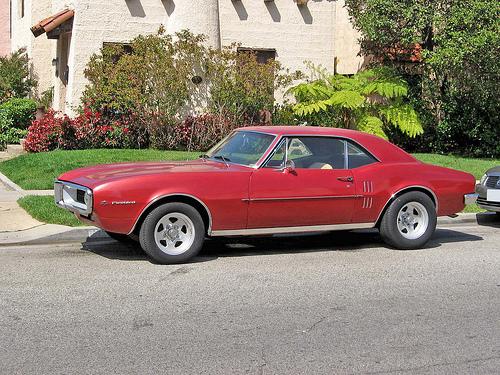 1967 Pontiac Firebird side view