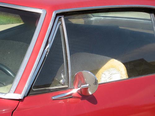 1967 Pontiac Firebird vent window