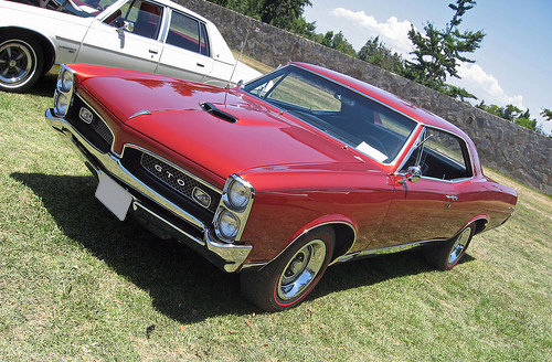 1967 Pontiac GTO front 3q