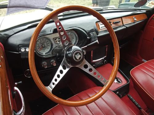 1967 Triumph 2000 dashboard © 2013 Aaron Severson
