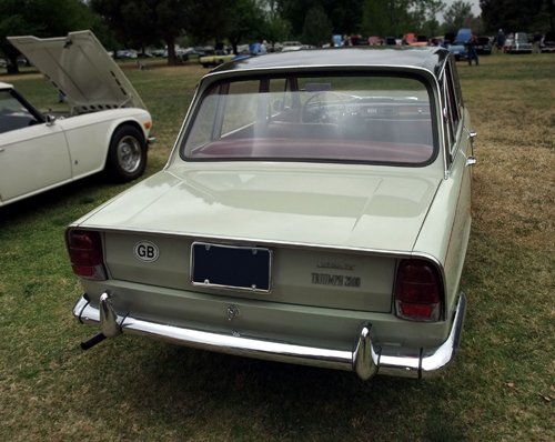 1967 Triumph 2000 rear © 2013 Aaron Severson