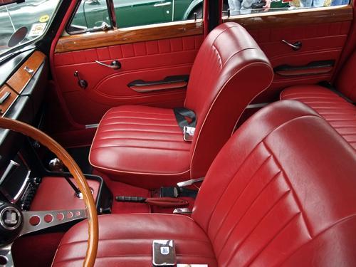 1967 Triumph 2000 seats © 2013 Aaron Severson