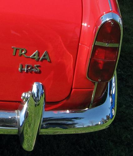 1967 Triumph TR4A badge