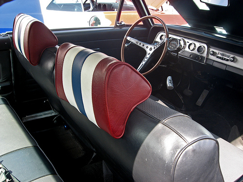1969 AMC SC/Rambler seats