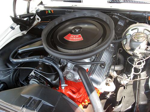 1969 Chevrolet Camaro Z28 302 engine