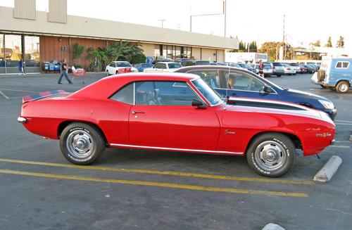 1969 Chevrolet Camaro side