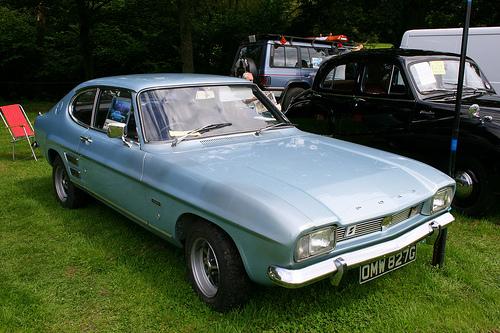 1969 Ford Capri 1300GT front 3q