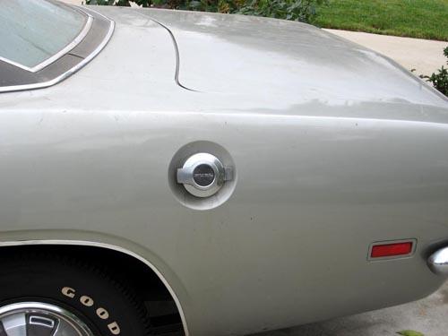 1969 Plymouth Barracuda deck