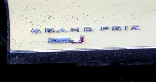 1969 Pontiac Grand Prix badge