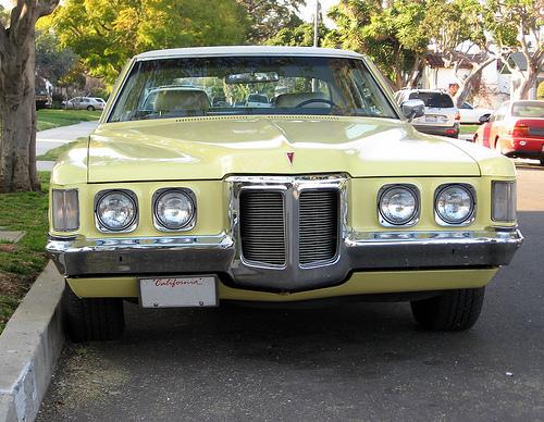 1969 Pontiac Grand Prix front