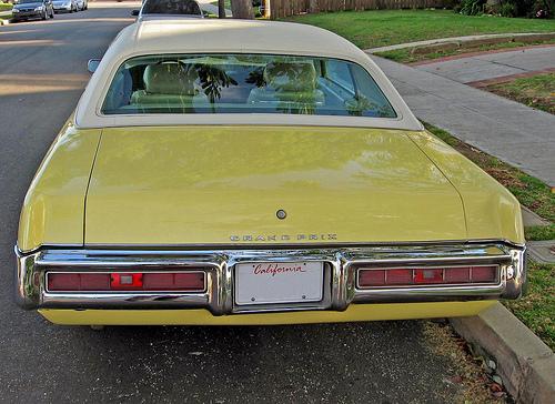 1969 Pontiac Grand Prix rear