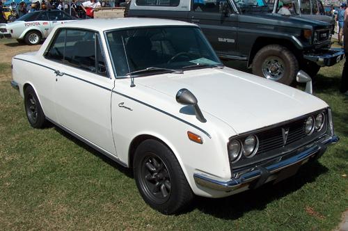 1969 Toyota Corona hardtop (T50) front 3q © 2011 Aaron Severson