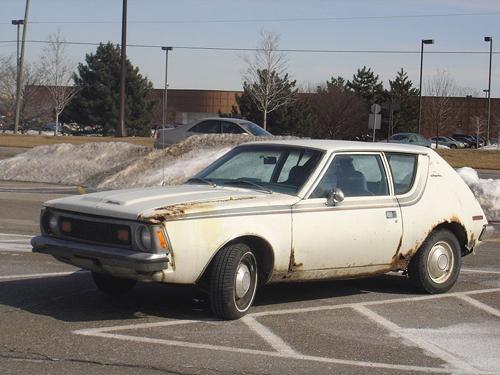 1970 AMC Gremlin front 3q
