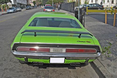 1970 Dodge Challenger R/T rear view