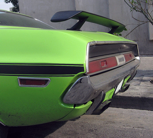 1970 Dodge Challenger R/T spoiler