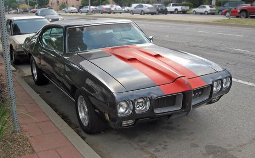 1970 Pontiac GTO front 3q