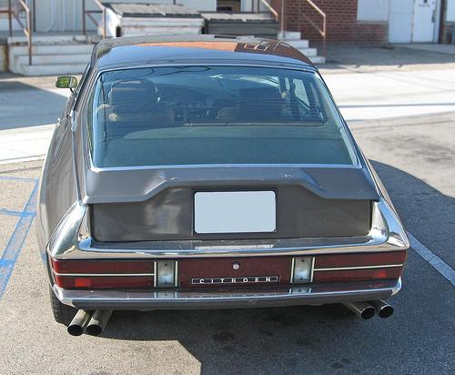 1972 Citroen SM rear view