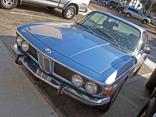 1973 BMW 3.0 CS front