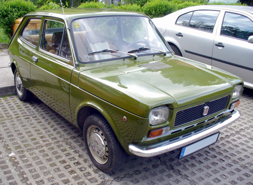 Mk1 Fiat 127 © 2009 Thomas Doerfer (CC BY-SA 3.0 Unported)