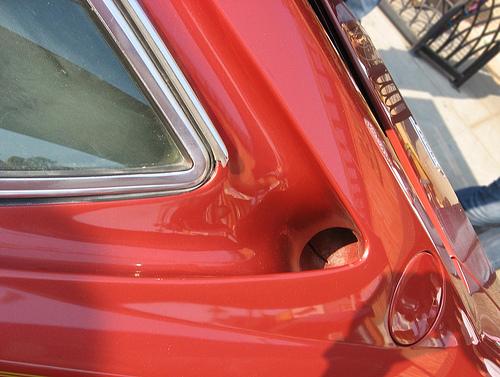 Ferrari Dino 308 GT4 intake duct
