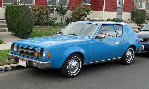 1976 AMC Gremlin front 3q
