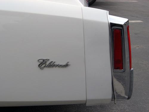 1976 Cadillac Eldorado convertible script
