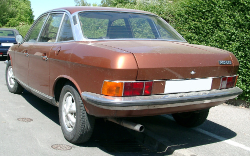 1976 or 1977 NSU Ro80 rear 3q © 2007 Rudolf Stricker CC BY-SA 3.0 Unported