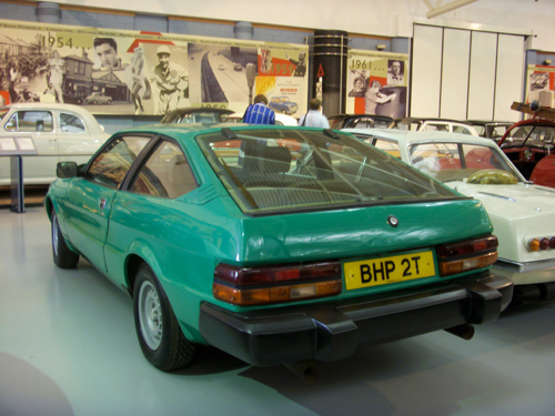 1977 Triumph Lynx prototype rear 3q copyright 2009 Mark Brown (per)