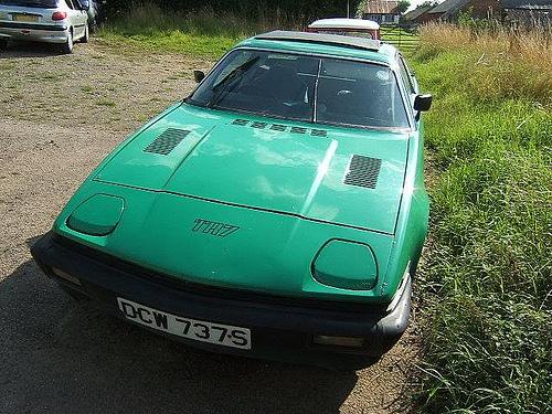 1977 Triumph TR7 front copyright 2009 John Catlow (per)