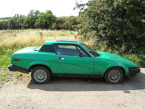 1977 Triumph TR7 side copyright 2009 John Catlow per