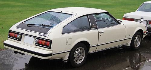 1979 Toyota Celica XX 2000G (MA45) rear © 2013 TTTNIS (PD CC0 1.0)