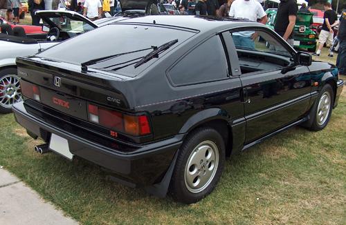 1987 Honda CRX Si rear 3q © 2011 Aaron Severson
