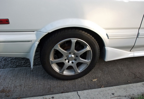 1988-91 Toyota Corolla Sport GT-S (AE92) alloy wheel © 2014 Aaron Severson