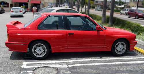 1989 BMW E30 M3 side
