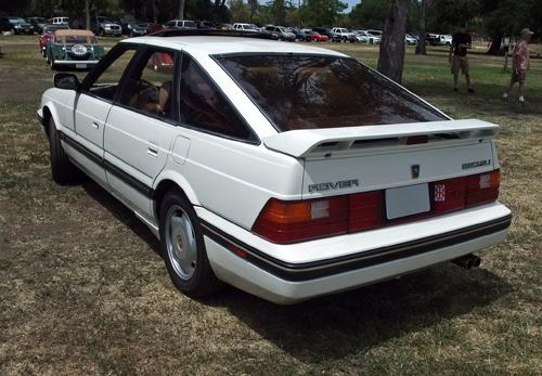 1989 Sterling 827SLi fastback rear 3q © 2014 Aaron Severson