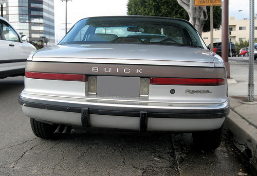 1990 Buick Reatta rear