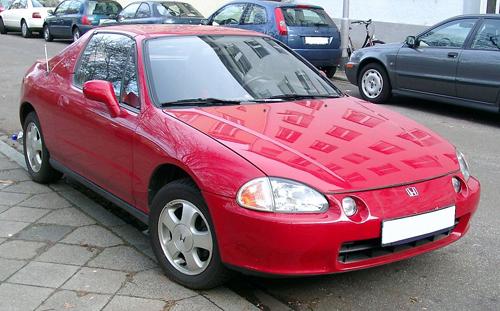 Honda Civic del Sol front 3q © 2008 Rudolf Stricker (CC BY-SA 3.0)