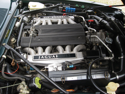 1995 Jaguar XJS V-12 engine © 2011 Aaron Severson